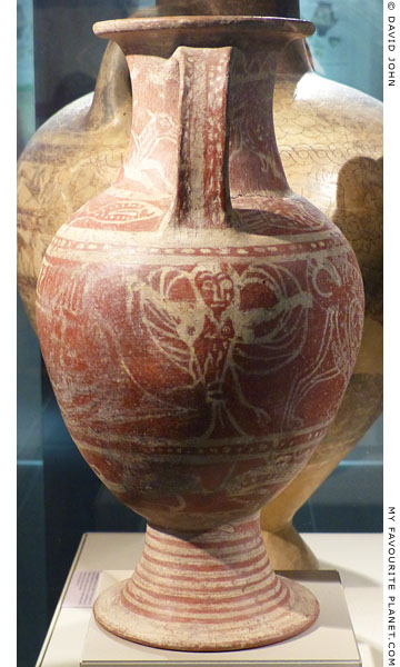 A siren on an Etruscan amphora at My Favourite Planet