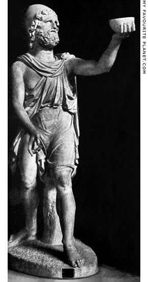 The Chiaramonti Odysseus statuette at My Favourite Planet