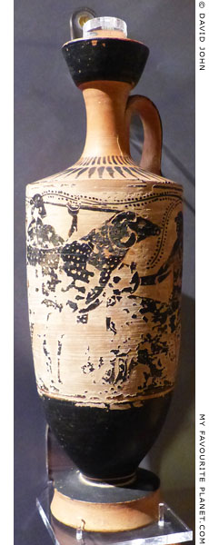 The Polyphemos lekythos, Ashmolean Museum, Oxford at My Favourite Planet
