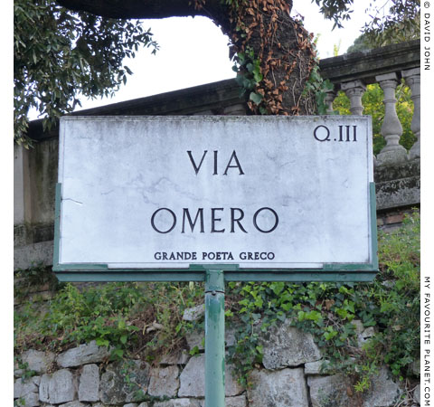 Via Omero, Rome at My Favourite Planet