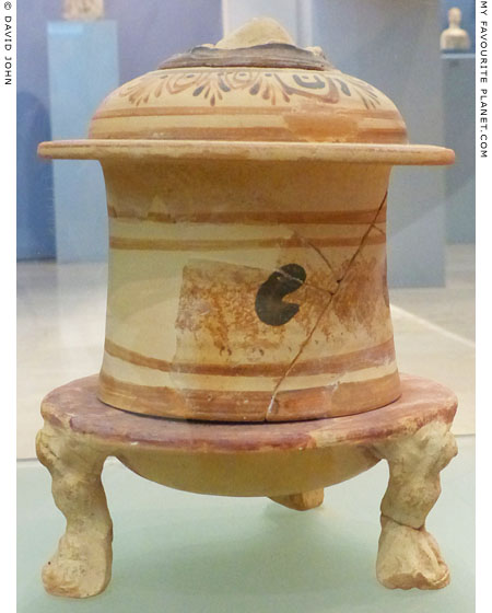 The pyxis in Amphipolis at My Favourite Planet