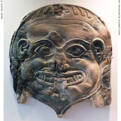 Head of the Gorgon Medusa from Sparta at My Favourite Planet