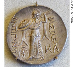 Athena on coin from Amphipolis