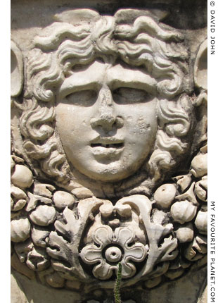 A beautiful type Gorgon head from Ephesus at My Favourite Planet