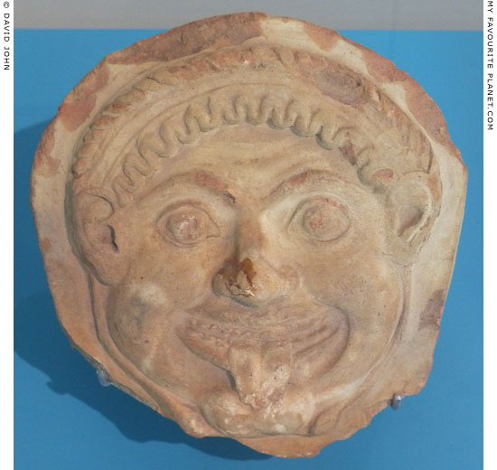 Gorgoneion antefix from Selinunte at My Favourite Planet