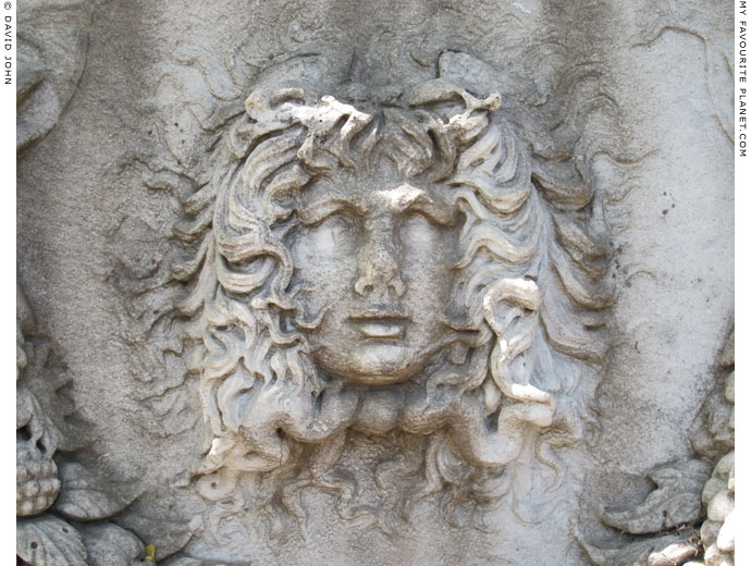 A winged Gorgon with wild hair, Izmir Archaeological Museum at My Favourite Planet