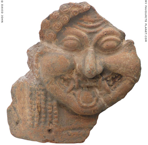 Terracotta Gorgoneion from Randazzo, near Catania at My Favourite Planet