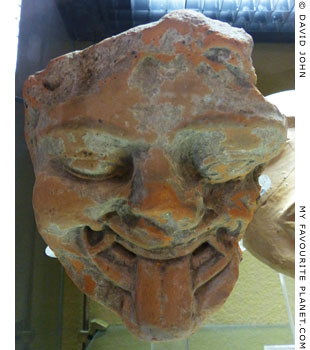Gorgon's head from Megara Hyblaea, Sicily at My Favourite Planet