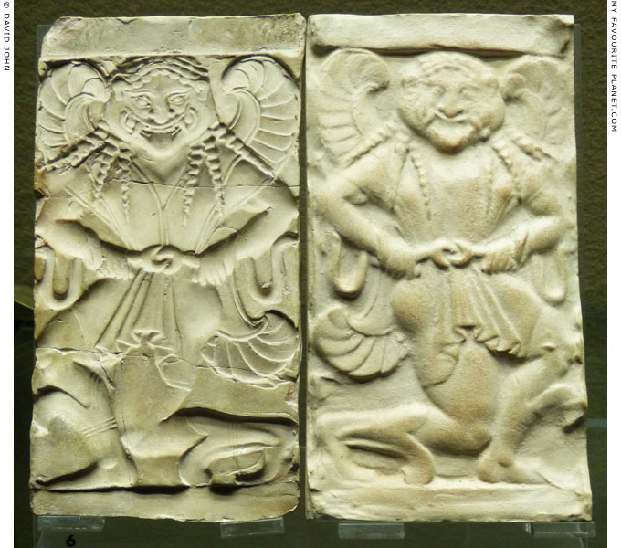 A ceramic relief of Gorgon Medusa and an ancient mould from Akragas, Sicily at My Favourite Planet