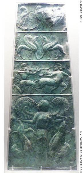 The bronze sheet from the Sanctuary of Olympia at My Favourite Planet