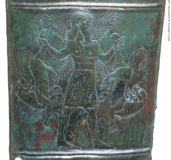 The Master of Animals on a bronze quiver cover from Mesopotamia or Iran at My Favourite Planet