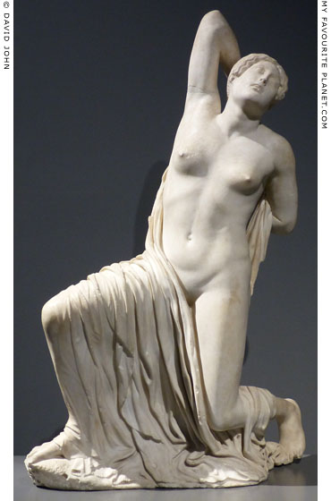 Marble statue of a dying Niobid, Palazzo Massimo, Rome at My Favourite Planet