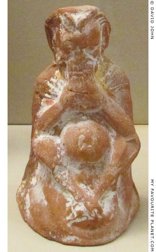 Terracotta figurine of Pan from Amphipolis, Macedonia at My Favourite Planet