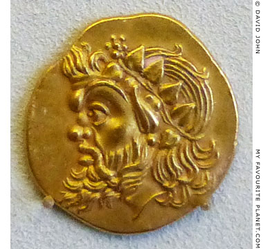 Gold stater of Pantikapaion at My Favourite Planet