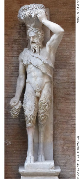 A Della Valle Satyr statue of Pan at My Favourite Planet