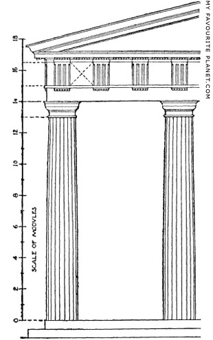 The Doric order according to Vitruvius at My Favourite Planet